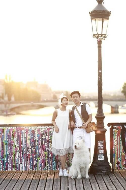 Cặp đôi lang thang khắp Paris chụp ảnh cưới phong cách đường phố - hình ảnh 8