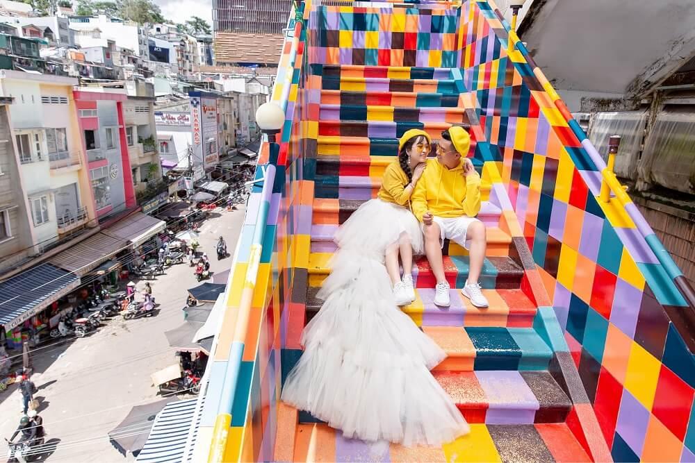 Chụp ảnh cưới ngoại cảnh Đà Lạt - hình 1