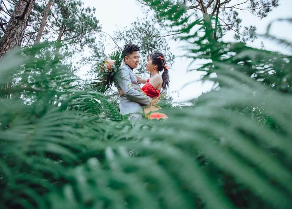 Chụp ảnh cưới ngoại cảnh Đà Lạt - hình 4