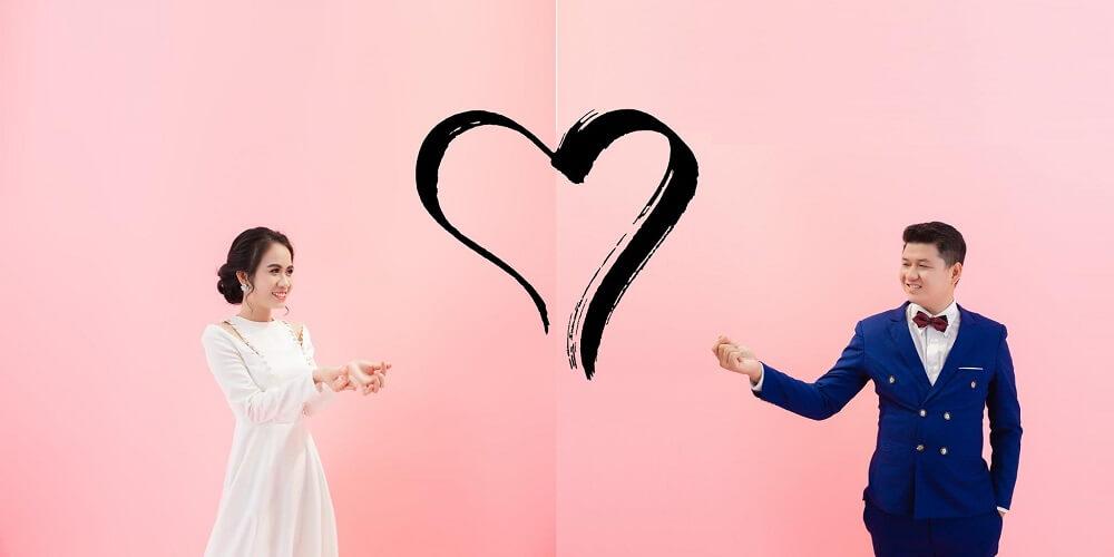 Chụp ảnh cưới studio Hàn Quốc - hình 2