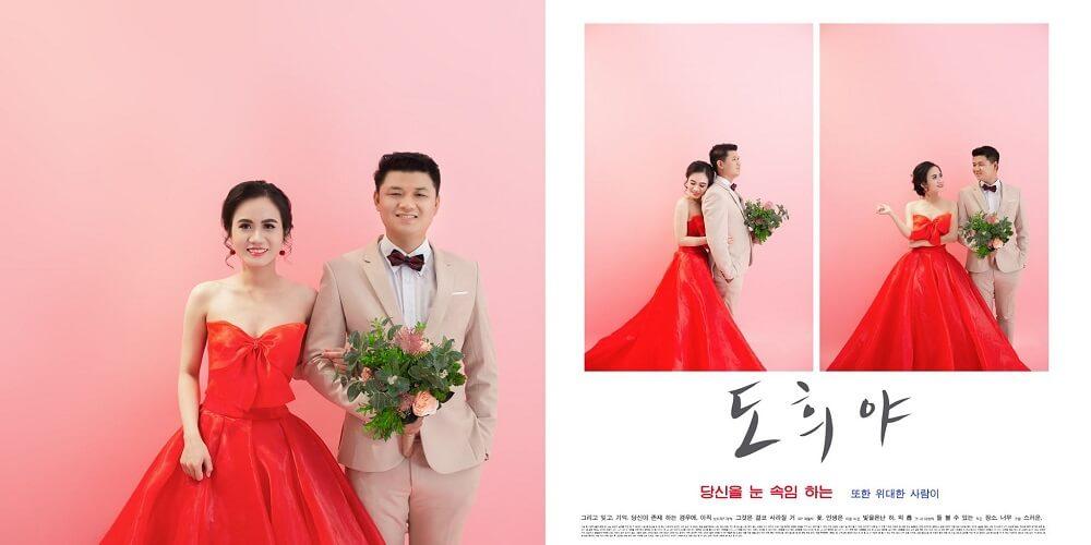 Chụp ảnh cưới studio Hàn Quốc - hình 3