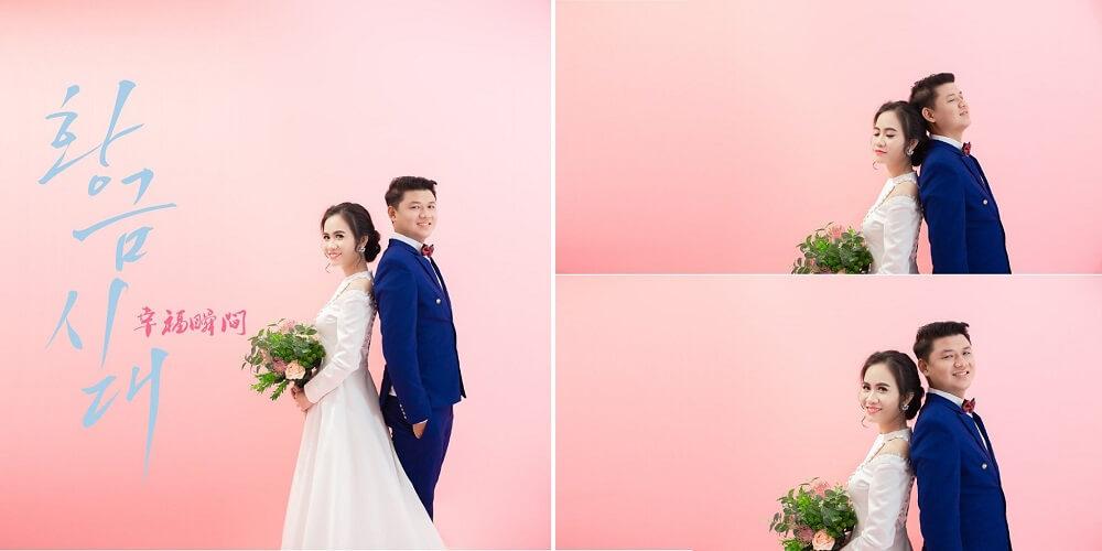 Chụp ảnh cưới studio Hàn Quốc - hình 4