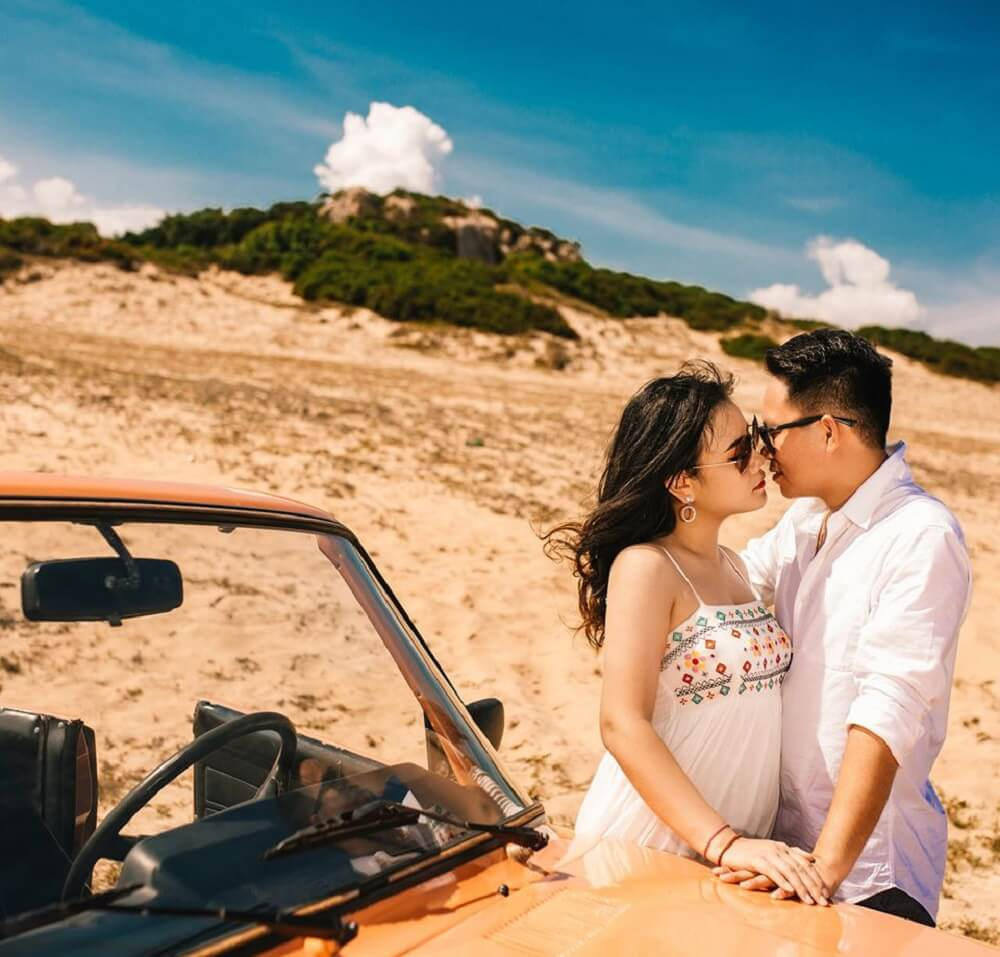Chụp ảnh cưới ngoại cảnh Hồ Cốc Vũng Tàu - hình 4