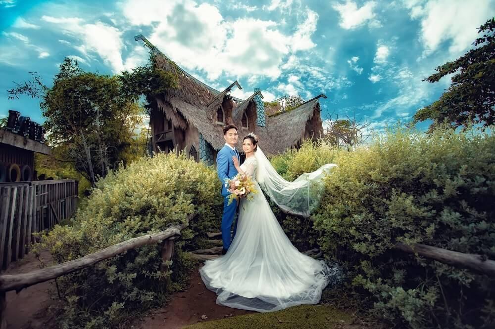 Chụp ảnh cưới phim trường Alibaba - hình 3