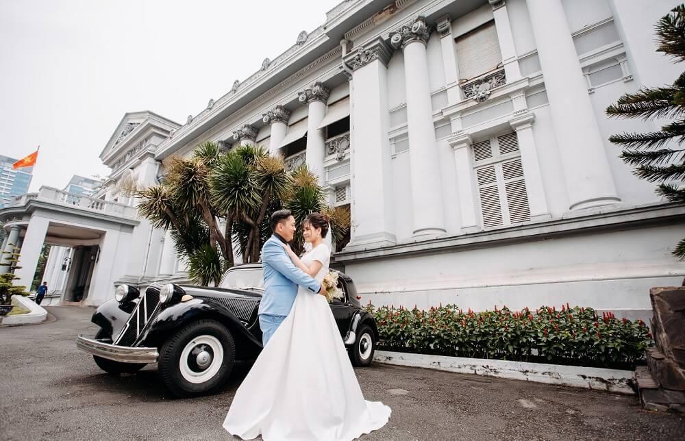 Chụp ảnh cưới ngoại cảnh Sài Gòn TPHCM - hình 2