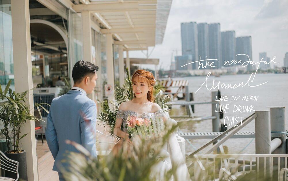 Chụp ảnh cưới ngoại cảnh Sài Gòn TPHCM - hình 4
