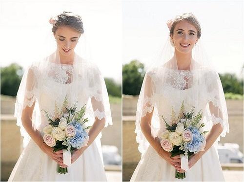Làm thế nào để chụp chân dung cho cô dâu và chú rể tại lễ cưới khi không có nhiều thời gian? - hình ảnh 4