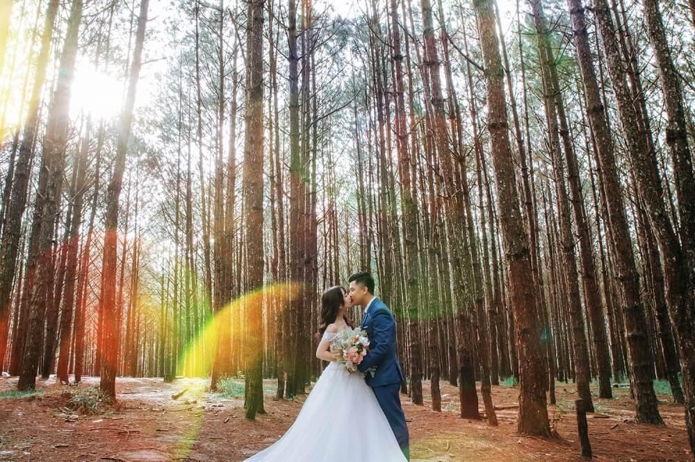 Báo giá chụp ảnh cưới Đà Lạt