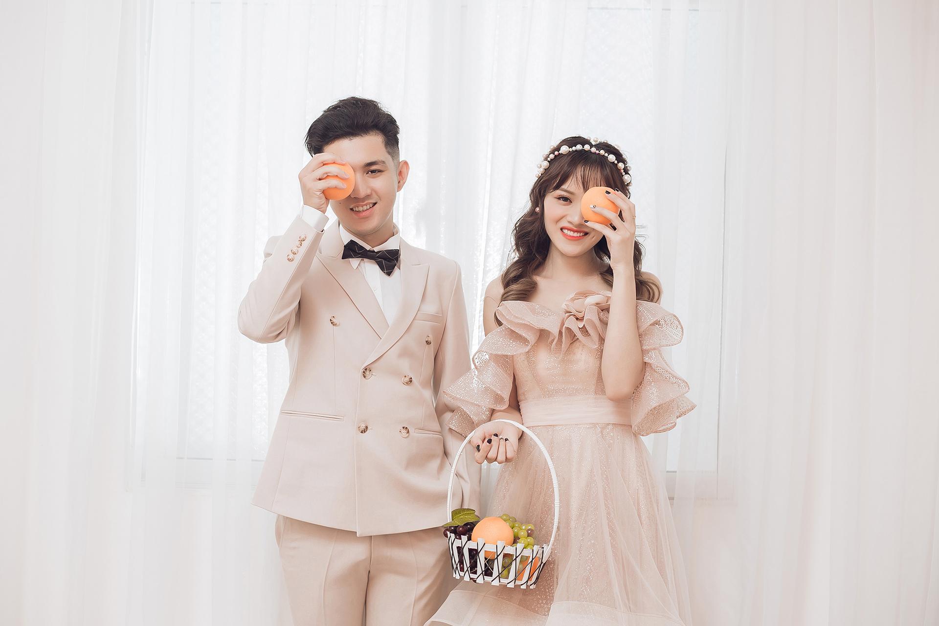 Bảng giá trọn gói chụp hình cưới studio Hàn Quốc đẹp